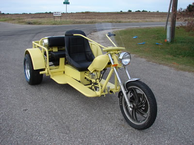 how to build a custom trike